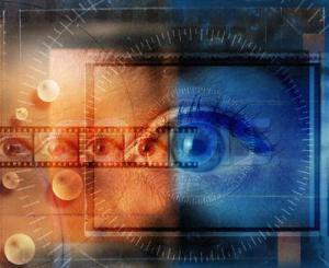 Woman's Eye in Filmstrip