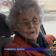 A 92-Year Old Is Held At Gunpoint But Her Response Brings Her Mugger To Tears