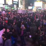 Eric Garner protest takes over time square