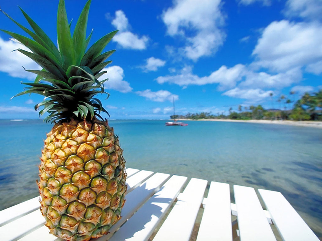 Pineapple At The Beach: Study Finds Pineapple Enzymes More Effective Than
