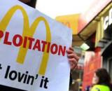 Thousands of Workers Shut Down McDonald's Headquarters