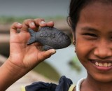 This 'Lucky Iron Fish' is halving instances of anaemia in Cambodia
