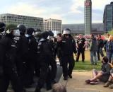 Pro-Nazi and Anti-Fa Clash In Germany VIDEO