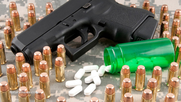 Handgun-Bullets-Psych-Drugs-PTSD-1