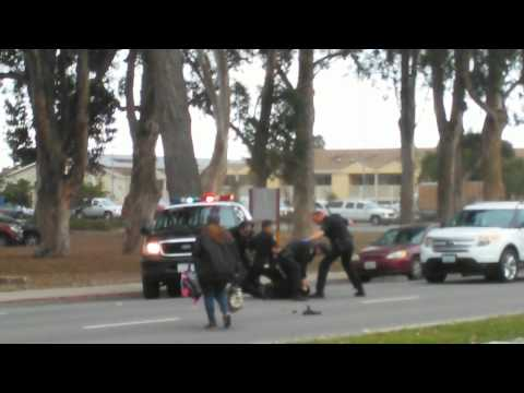 Salinas California Police Use Excessive Force On Mentally Ill Man.