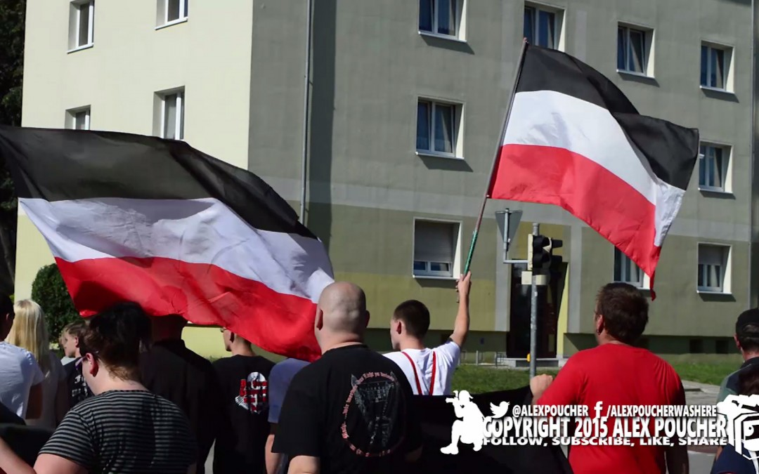 Exclusive Video: #Hoyerswerda Far Right Nationalists Take To The Streets