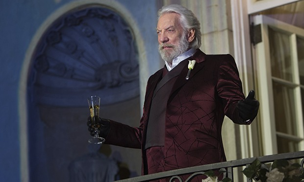 Actor Donald Sutherland: The Hunger Games an Allegory for the United States of America