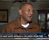Homeless man saves family from house fire after they gave him a place to stay