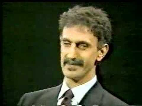 Frank Zappa on crossfire 1986 Censorship