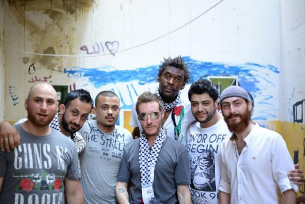 Massive Attack visit Palestinian refugees in Lebanon: 'All of them have a right to a life of dignity and beauty'