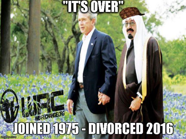 bush saudi meme