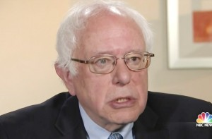 Bernie Sanders Questions the Legality of Cigarettes