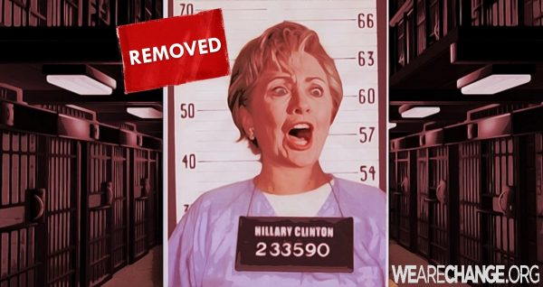 Hillary removed