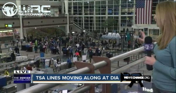 TSA blames airport passengers for long lines
