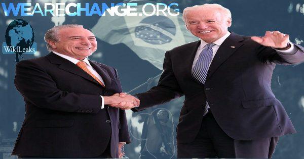 Brazil's New President Is a US intelligence asset