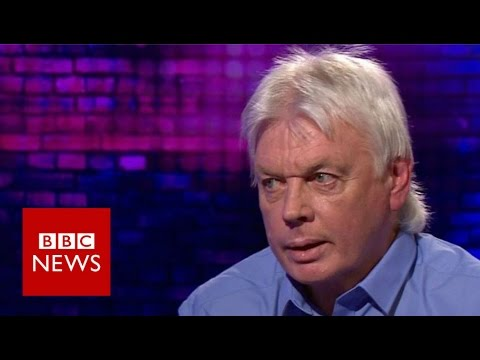 David Icke on 9/11 and lizards in Buckingham Palace theories