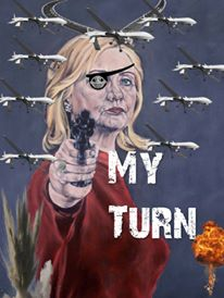hillary my turn art