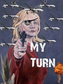 Hillary Clinton war candidate