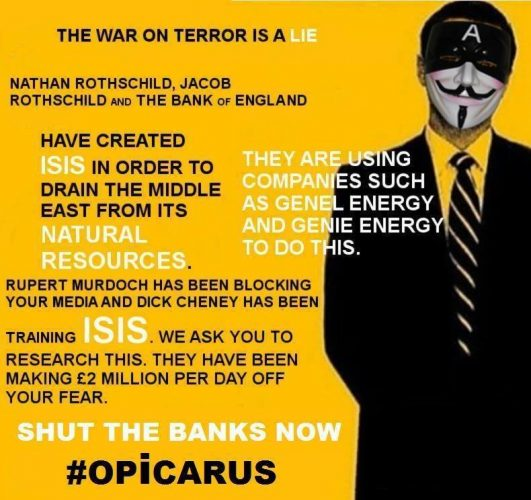 Escape to Panama: WRC EXCLUSIVE: Interview with Anonymous #OpIcarus