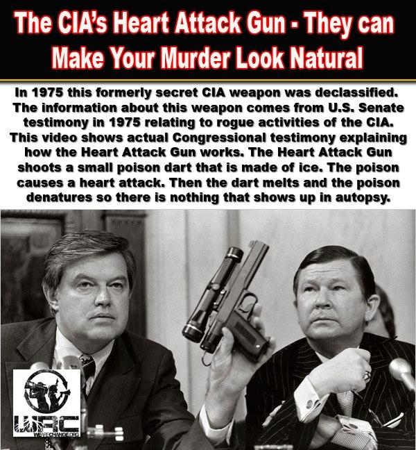 The CIA's Heart Attack Gun