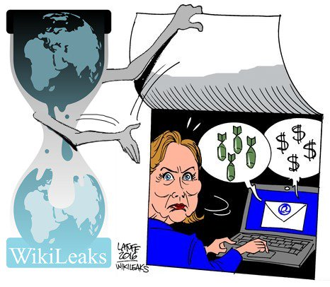 Hillary in Hacker Hell – WIKILEAKS RELEASES NEARLY 20K DNC EMAILS