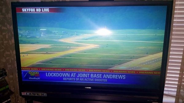 active shooter drill andrews airforce base