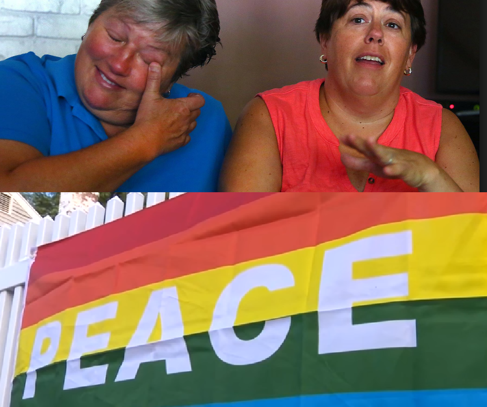 Home of Lesbian Couple Vandalized, Neighborhood Turns the Hate Into Love