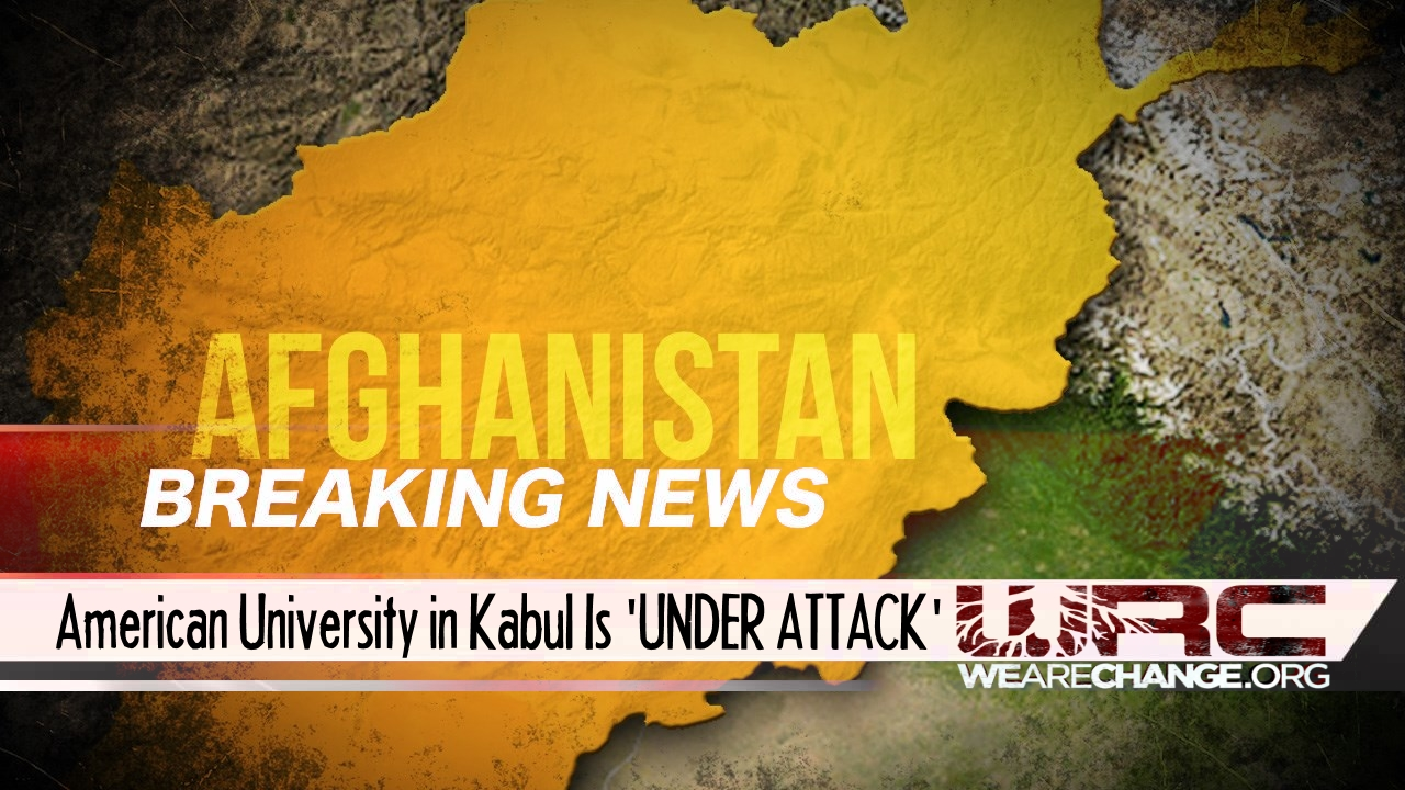 BREAKING NEWS: American University In Kabul Is Under Attack, Hostage Situation, Hundreds Trapped Inside..