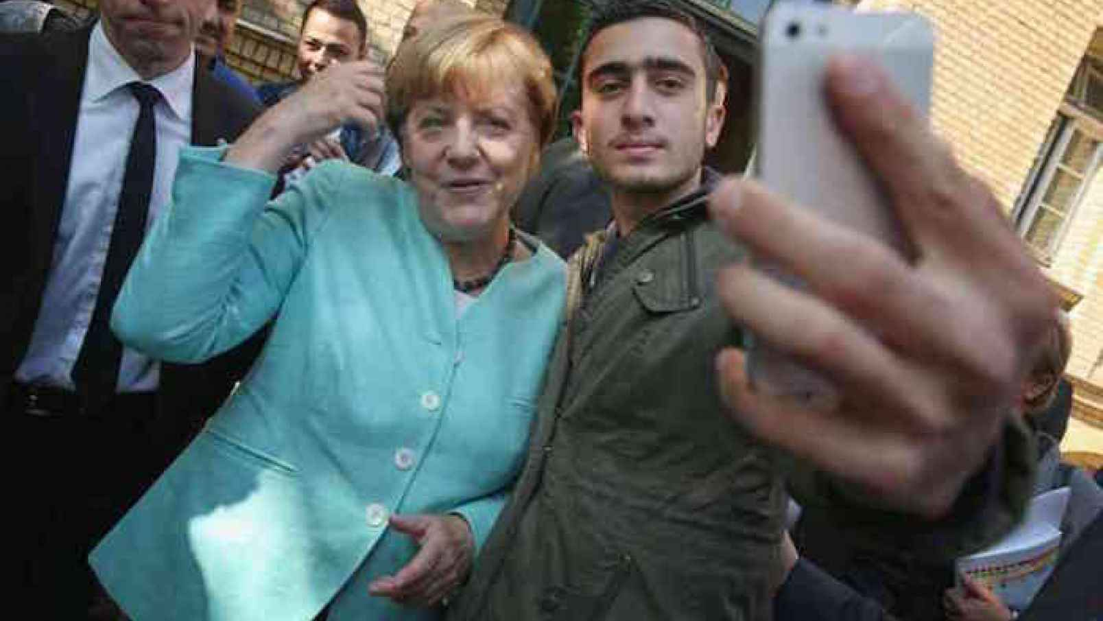 BREAKING: Reported Assassination Attempt On Germany's Angela Merkel By Armed Man