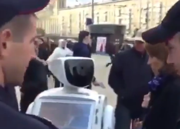 RobotLivesMatter: Infamous Promobot Arrested In Moscow After Recording Voters