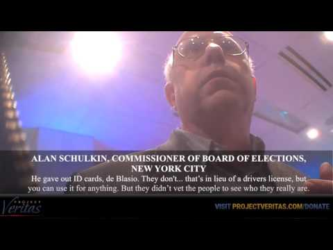 O'Keefe Hidden Cam NYC Democratic Election Commissioner Admits Election Fraud