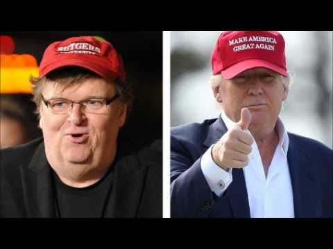 Michael Moore Says Vote For Trump Is Vote Against The System