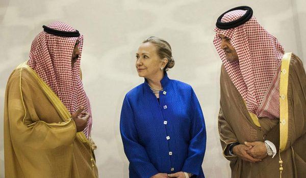 Clinton Saudi