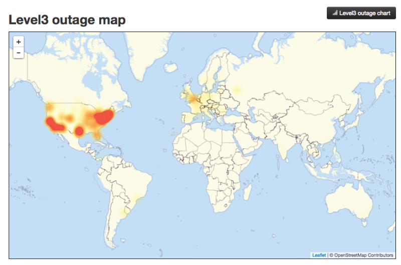 Internet Outage: THIRD WAVE OF ATTACKS Outage Expands To West Coast Of U.S. And Europe