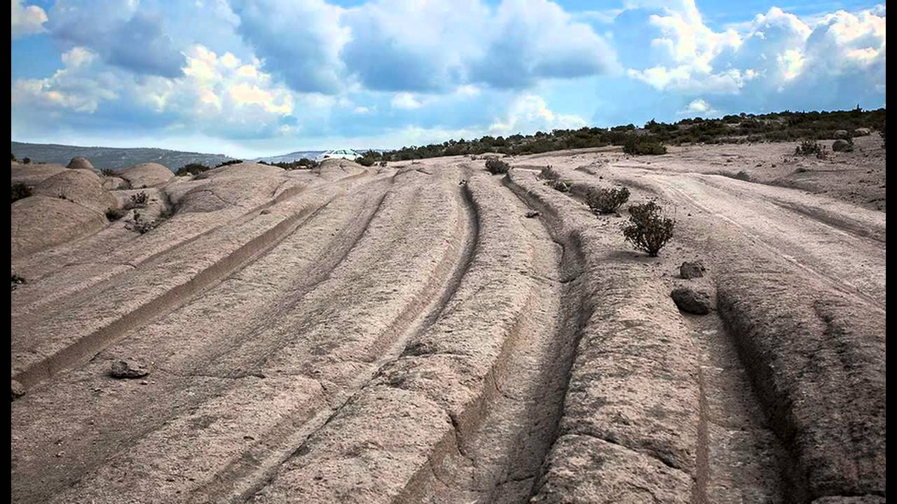 12 Million-Year-Old Vehicle Tracks Found Claims Geologist !