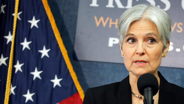 Green Party Opposes Jill Stein's Recount Effort — Including Her Own Campaign's Senior Advisor