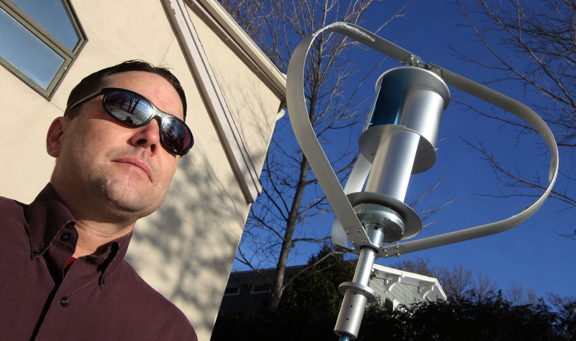 Man Sentenced To Six Months In Jail For Installing a Wind Turbine !