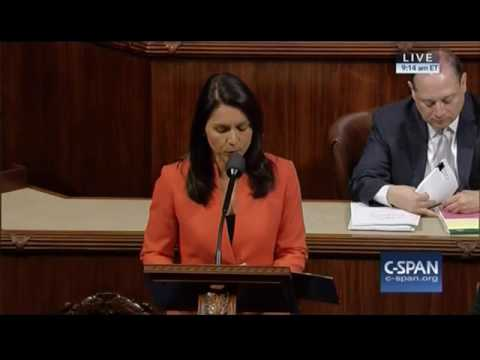 VIDEO: Rep. Tulsi Gabbard Introduces Legislation For US to Stop Arming Terrorists