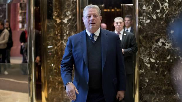 "Trump Has ""Extremely Interesting"" Meeting With Al Gore on Climate Change"
