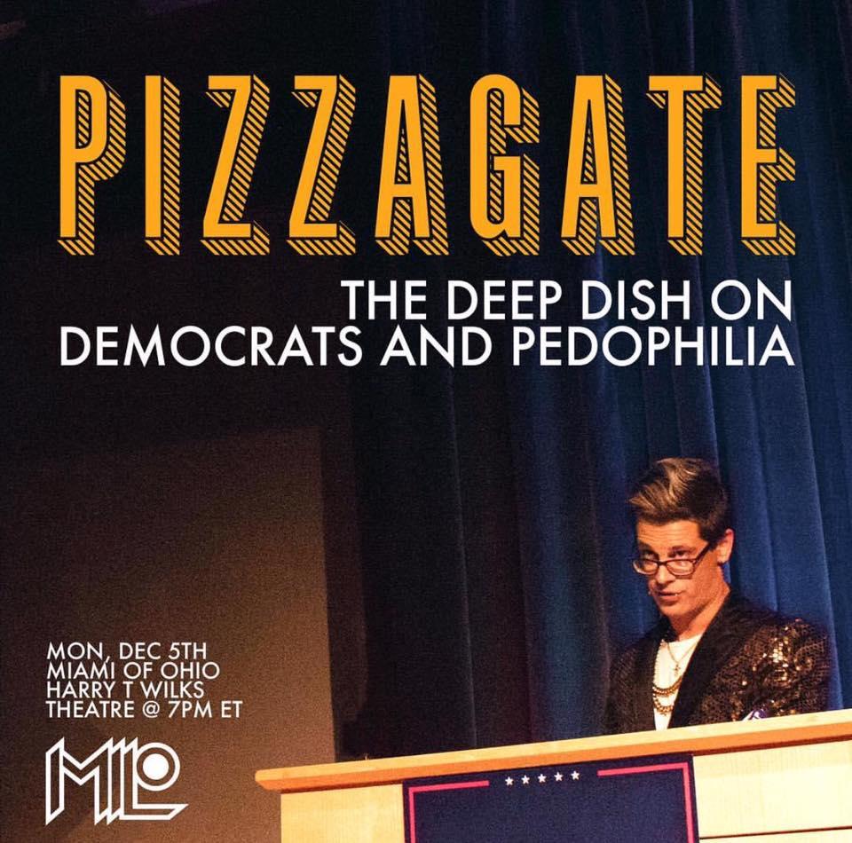 Breitbart's Milo and Infowars Silenced Over 'PizzaGate' Scandal