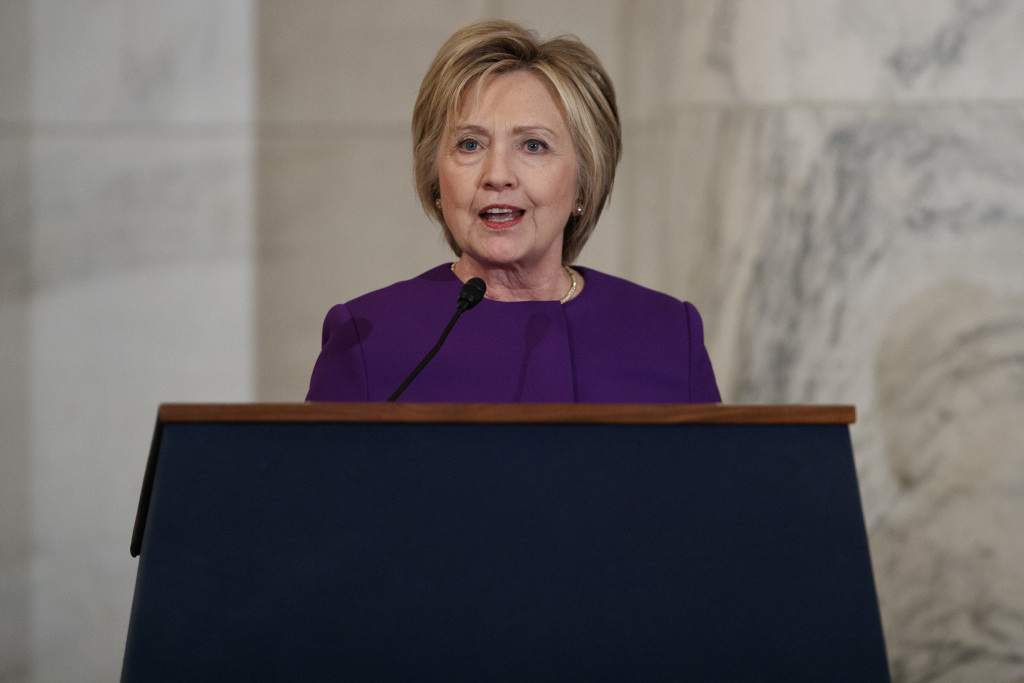 Hillary Clinton Calls For Congress To Go After Fake News… Despite Creating Fake News