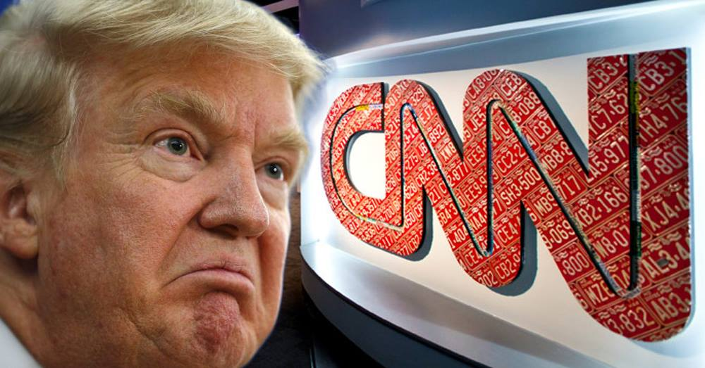 Trump Slams Corporate Media as 'Garbage,' Says CNN is 'Fake News'