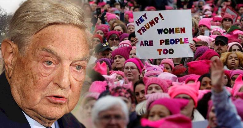 More Than 50 Soros-Funded Groups Partnered With Women's March On Washington