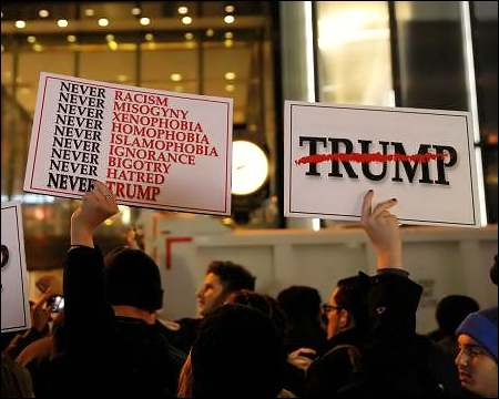 FAKE Website Claims To Pay Anti-Trump Protesters $2,500K A Month and $50 An Hour