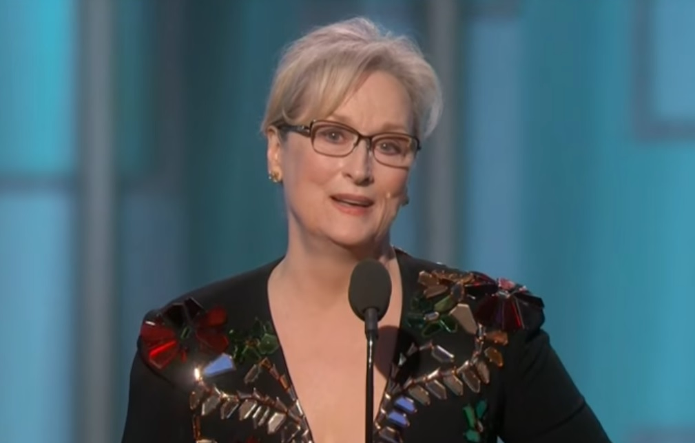 Meryl Streep Finally Realized the Government Does Terrible Things