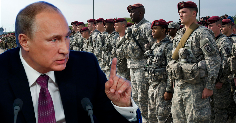 Russia Outraged, Says US Troops Amassing in Europe is a 'National Security Threat'