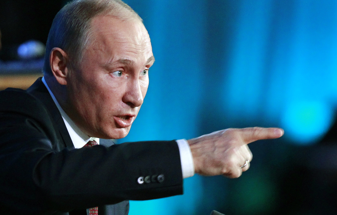 Russian President Vladimir Putin Warns Donald Trump Of Coup D'etat