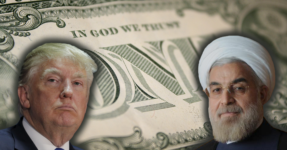 Days after iran promises to drop the dollar us imposes crippling new