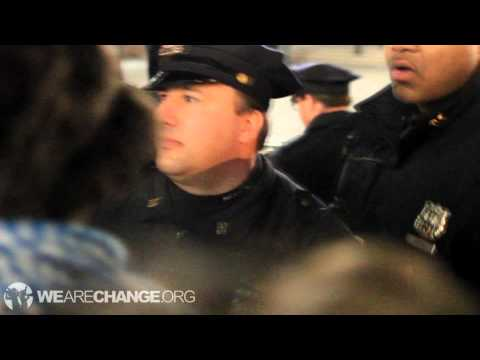 WeAreChange Captures Midnight Eviction Arrest at Occupy Union Square