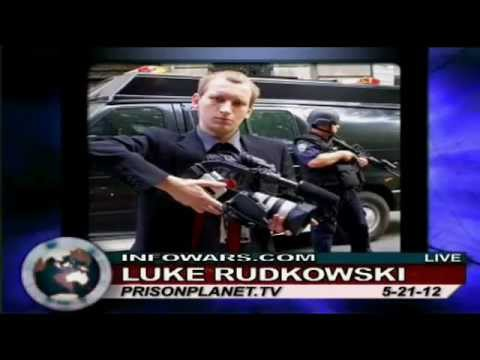 Democracy Now, The Guardian, Raw Story, The Nation, & Infowars coverage of Police Raid